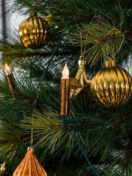 Kerstboomverlichting koper