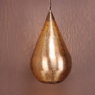 Zilver licht hanglamp