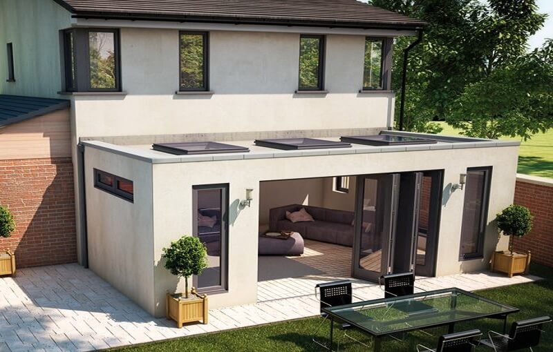 Prefab Aanbouw Keuken : Waarom verhuizen als je prettig woont? Door je huis een update te