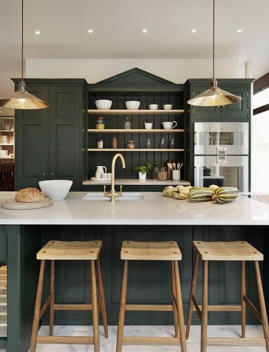 Donkere keuken 12