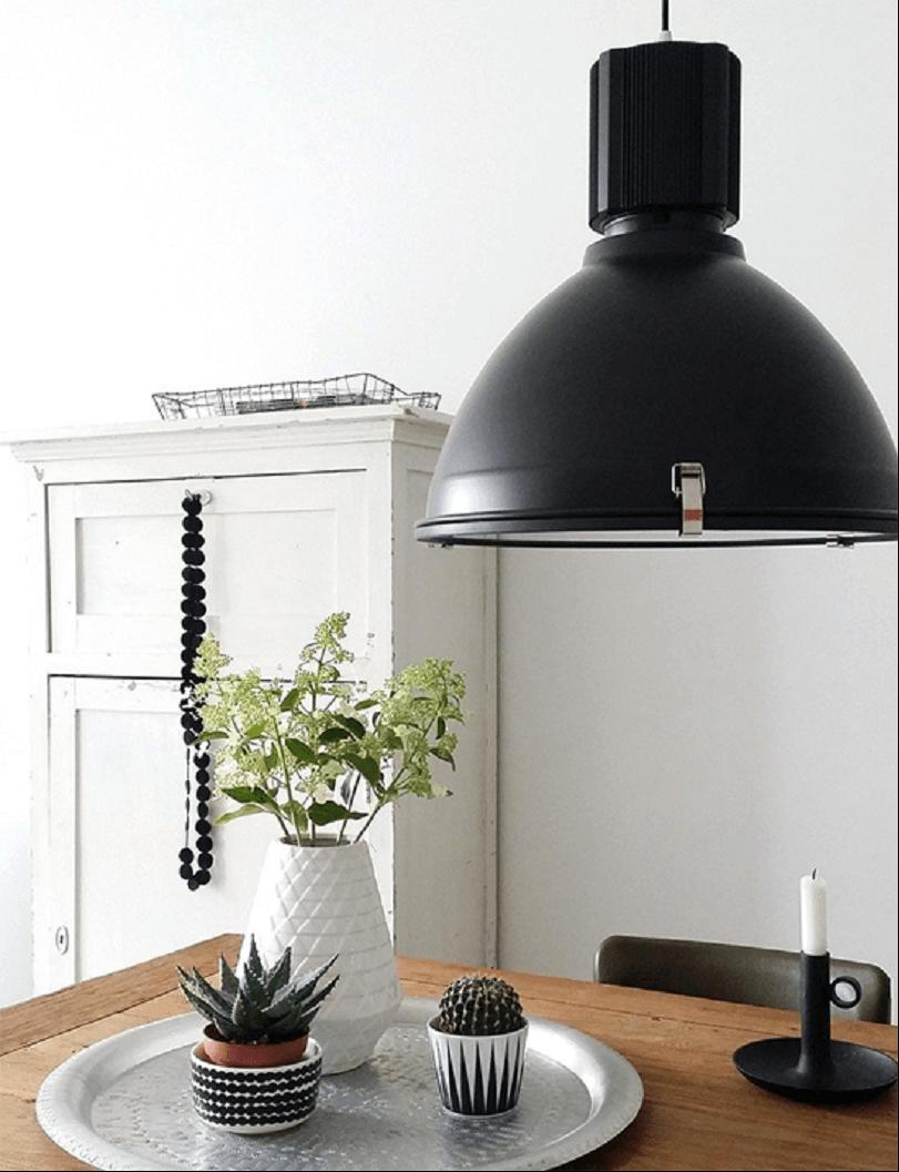 industri le lampen met een strakke of warme uitstraling