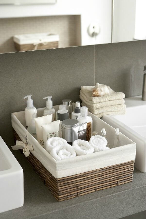Mandje badkamer