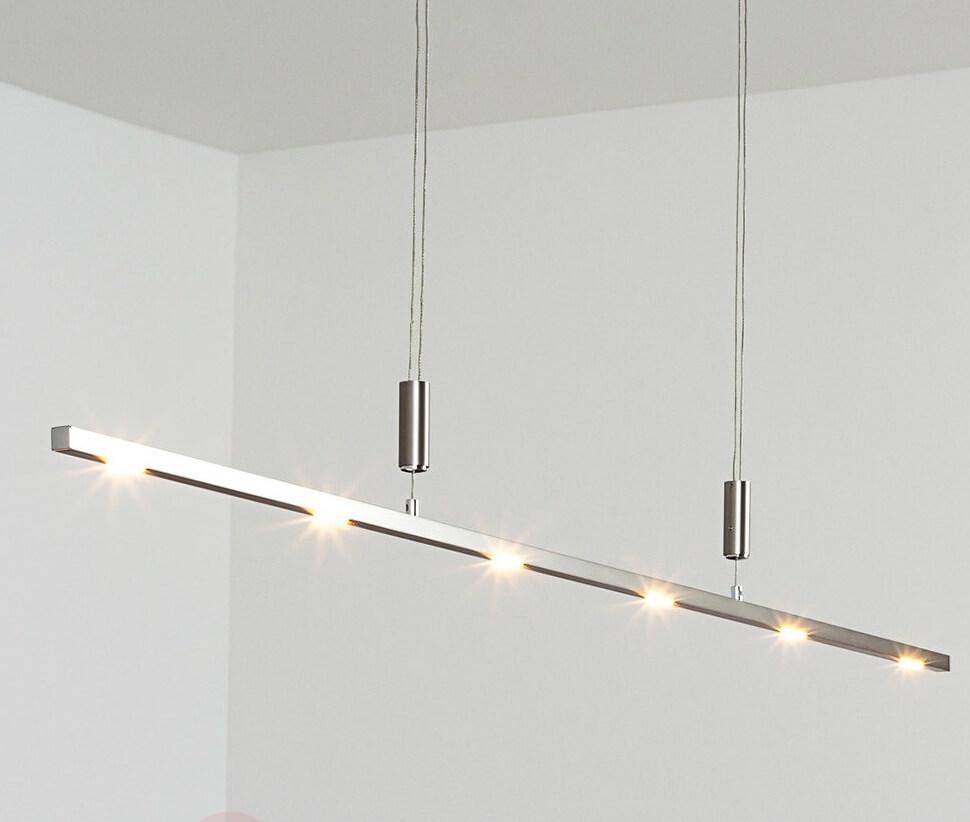 Hanglamp aluminium balk
