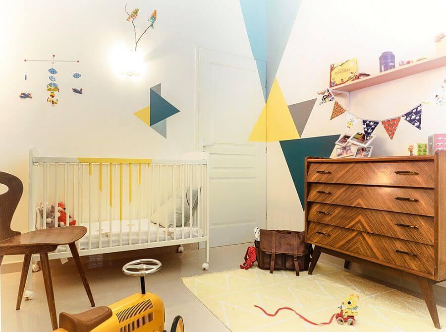 maak een scandinavische babykamer, Deco ideeën