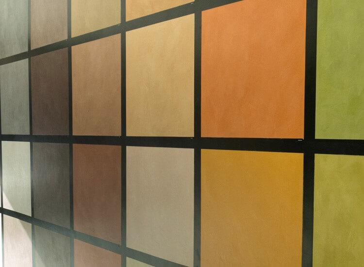 Kleuren microcement
