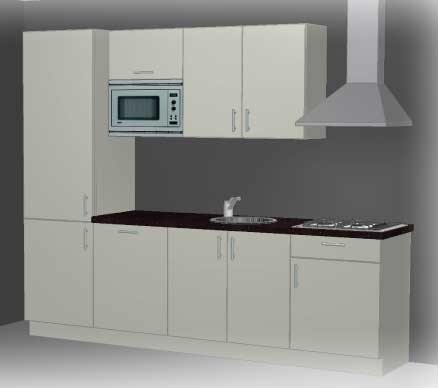 Kleine keuken inrichten tips om meer ruimte te cre ren - Hoe een kleine woonkamer te voorzien ...
