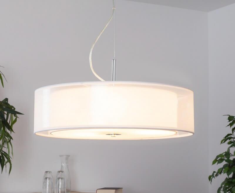 Textiel hanglamp - 1