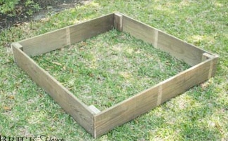 Opgehoogde tuin, naar wens te bouwen op elke hoogte