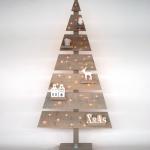 Winactie: Houten kerstboom met Led verlichting