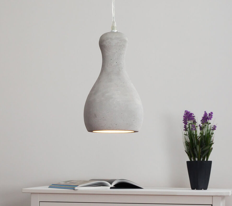 stenen hanglamp