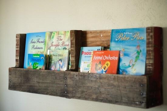 Leuke boekenrekjes voor in woonkamer of kinderkamer