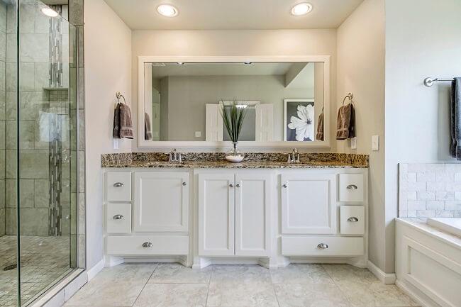 10. Rustieke badkamer