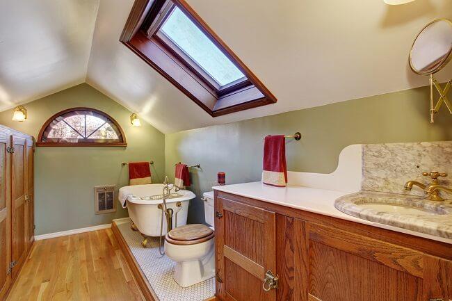 11. Rustieke badkamer