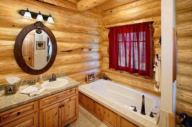 2. Rustieke badkamer