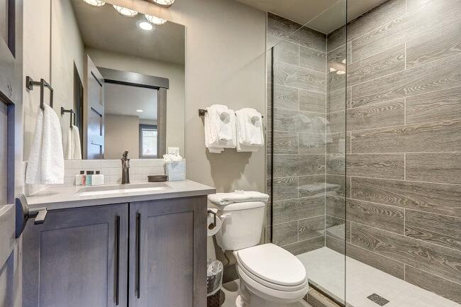 3. Rustieke badkamer
