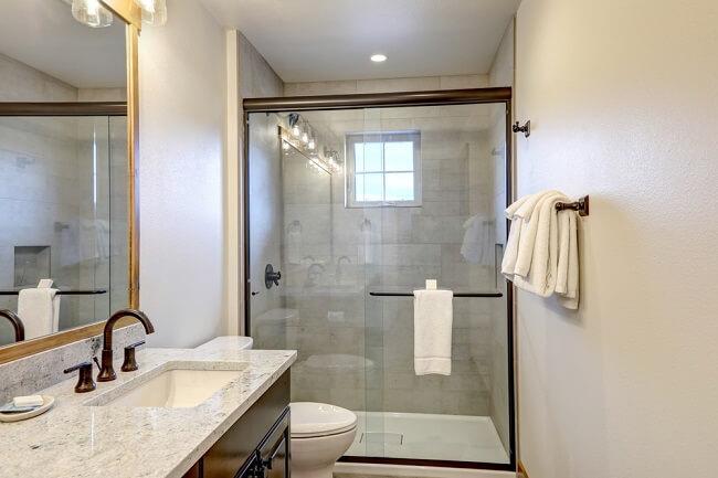 4. Rustieke badkamer