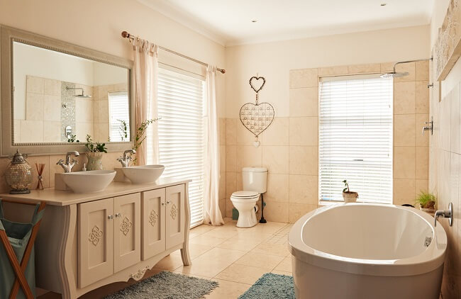 6. Rustieke badkamer