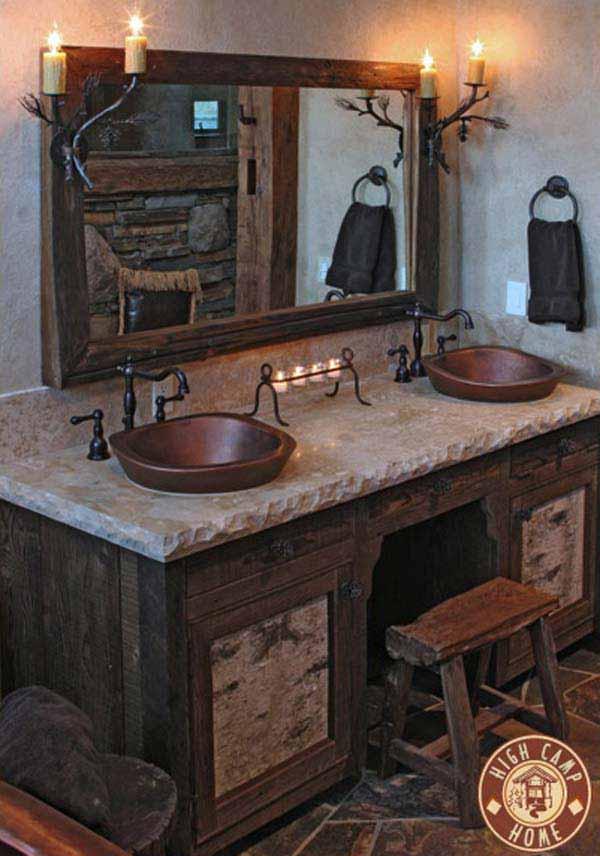 rustieke badkamer 11 prachtige voorbeelden