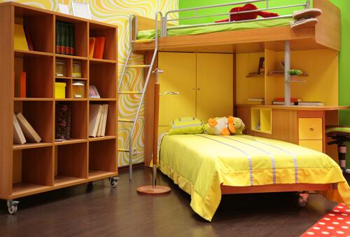 Efficiënt met kastruimte in kleine slaapkamer