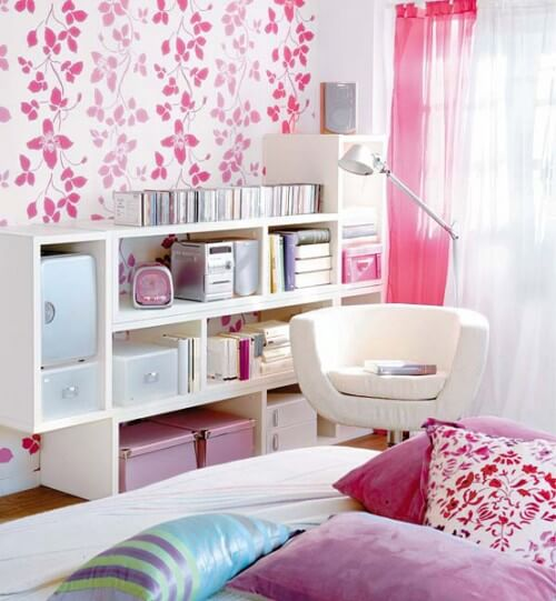 Kleine slaapkamer inspiratie ik woon fijn - Roze kleine kamer ...