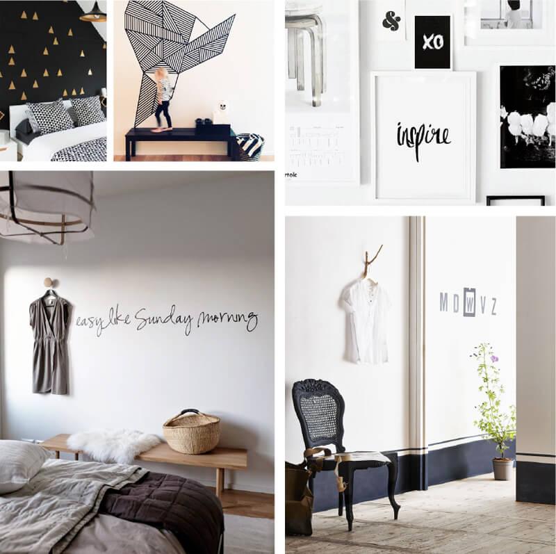 grafische interieur ideen van all in living