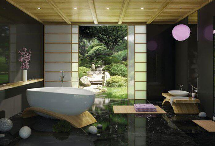 7 tips om je aziatische badkamer in te richten inspiratie - Decoratie zen badkamer ...