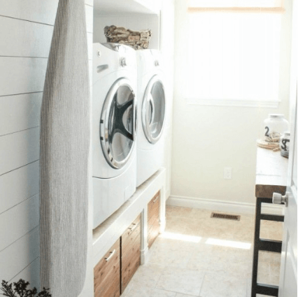 Wasmachine op hoogte 2