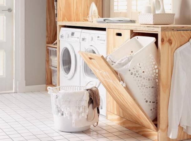 5 tips voor het inrichten van je waskamer ik woon fijn - Ruimte van het meisje verf idee ...