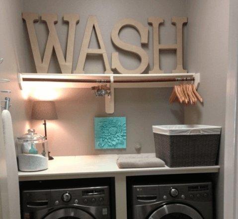 Decoratie waskamer 2