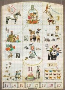 123 poster Kaartje of Kip