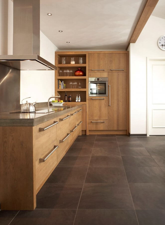 Keramisch tegels keuken