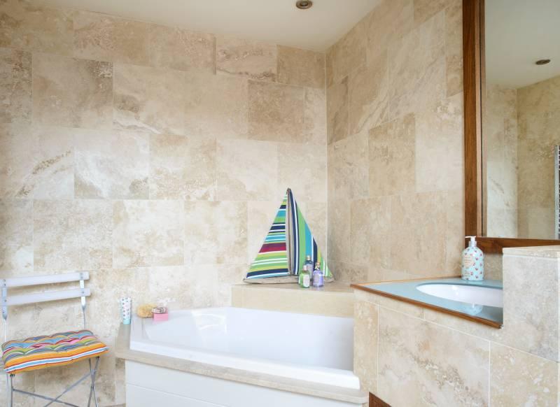 Badkamer zonder tegels. fabulous badkamer zonder tegels met istinto