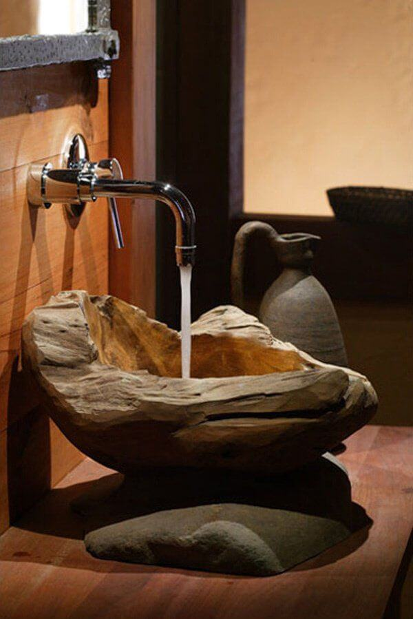 Kleine badkamer- opvallend