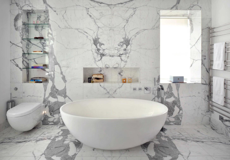 Natuursteen of keramische tegels welke vloer past bij jou for Popular bathroom styles
