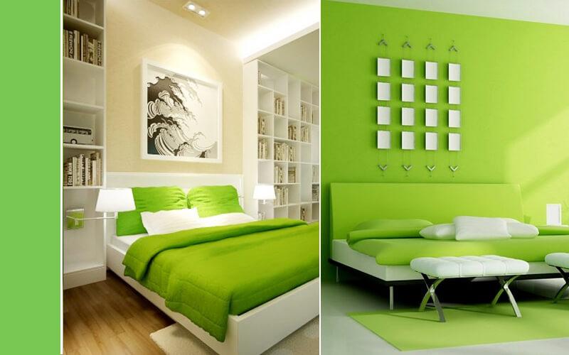 Slaapkamer Green Flash