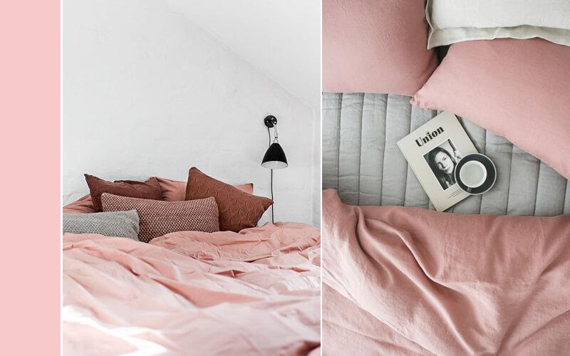 Slaapkamer Grijs Roze : Slaapkamer kleuren de lentekleuren van