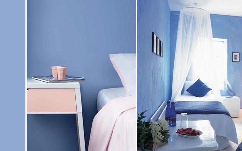 Trendkleur Diep Blauw : Slaapkamer kleuren de lentekleuren van 2016
