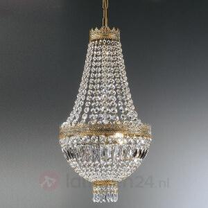 klassieke kristallen hanglamp