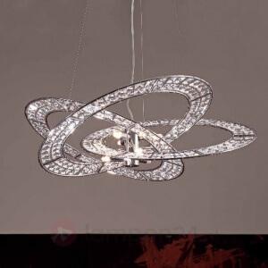 kristallen hanglamp modern
