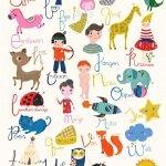 Alfabet posters als decoratie in de kinderkamer