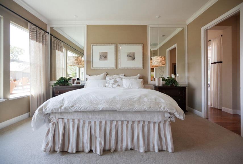 Bruine Slaapkamer Muur : Landelijke slaapkamer ideeën ik woon fijn