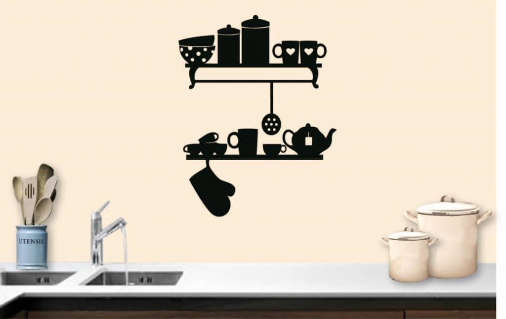 Muusticker serviersrekje keuken