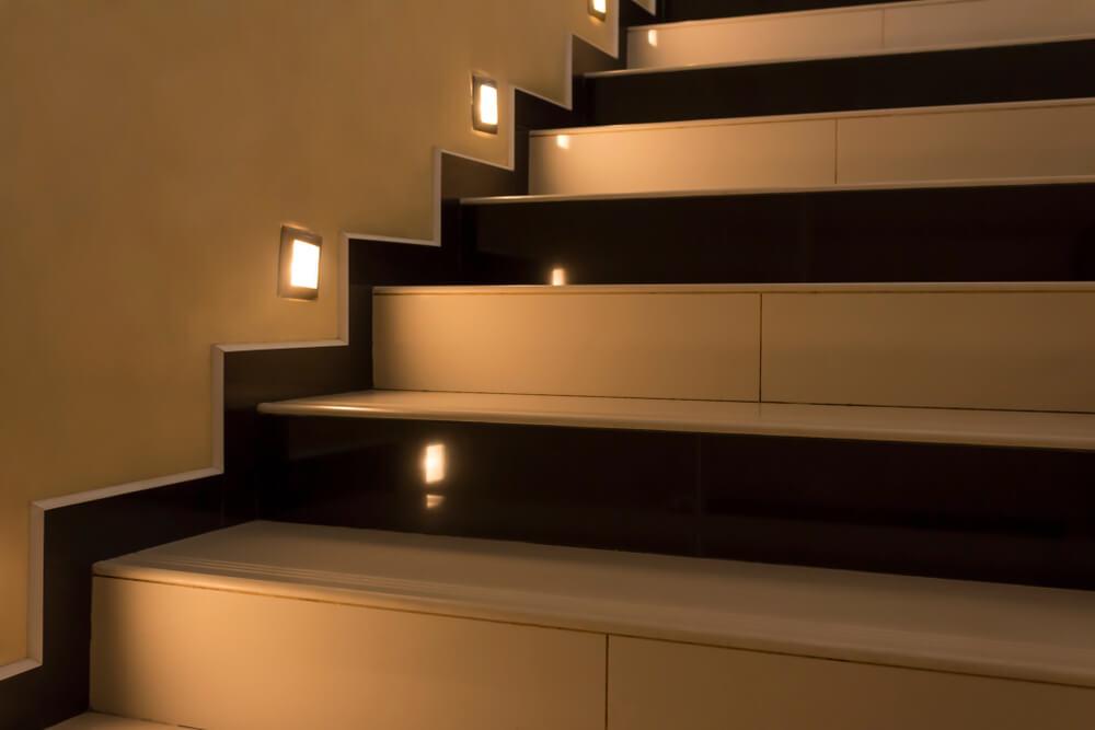 Trap verlichten met LED