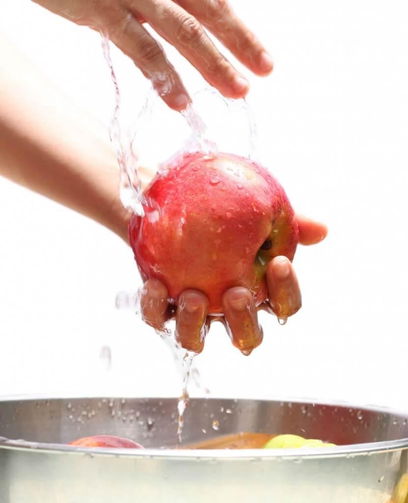 Waterbesparen - groenten wassen