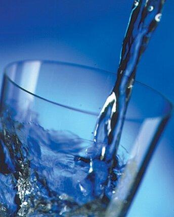 Waterbesparen - glas vullen