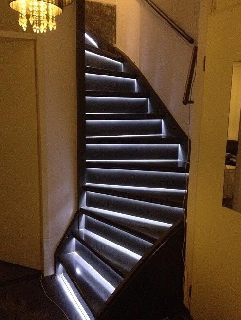 Je trap pimpen met LED-strips | Ik woon fijn