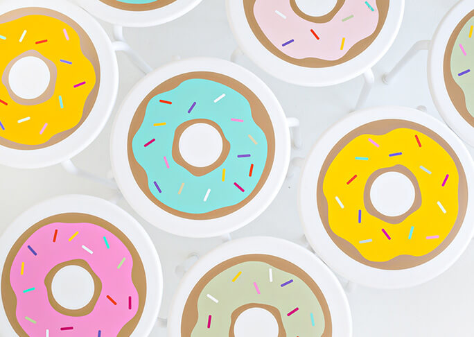 Donut krukjes
