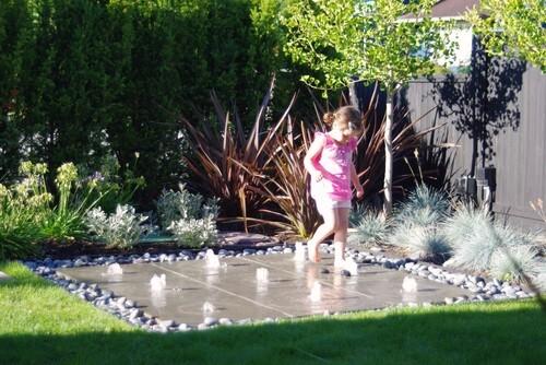Fonteintjes achtertuin