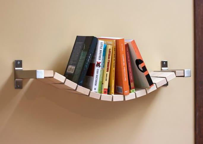 Hangmat boekenrek