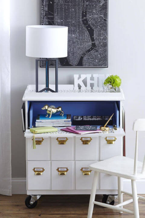 Computermeubel Wit Ikea.Top 100 Ultieme Ikea Hacks Ik Woon Fijn